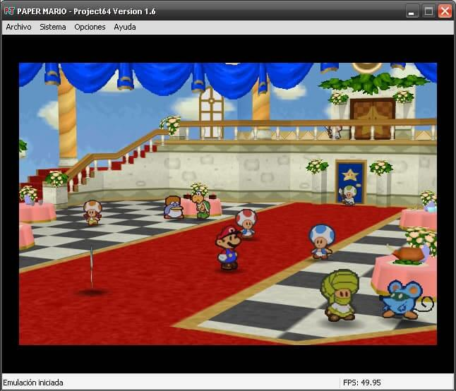 Project64 - Nintendo 64 Emulator - Pic 01