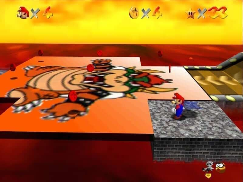 Screenshot - Bowser Puzzle Original N64 Texture