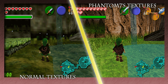 Phantom7's Ocarina of Time Retexture Pic 01