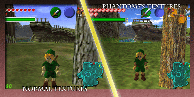 Phantom7's Ocarina of Time Retexture Pic 02