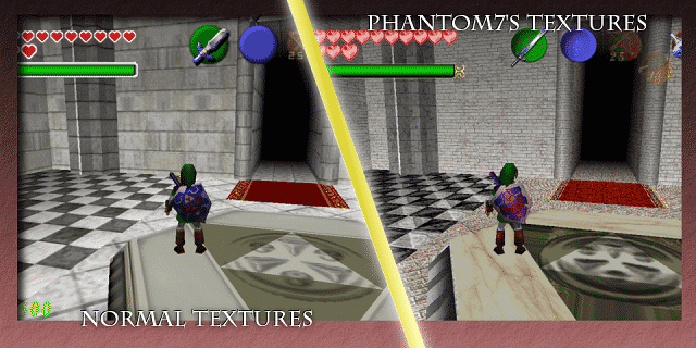 Phantom7's Ocarina of Time Retexture Pic 03