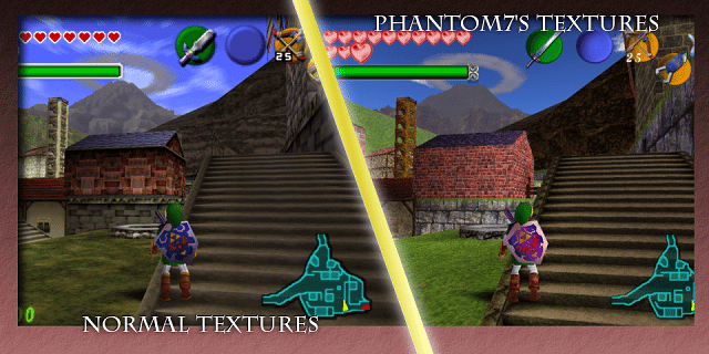 Phantom7's Ocarina of Time Retexture Pic 04