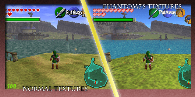 Phantom7's Ocarina of Time Retexture Pic 05