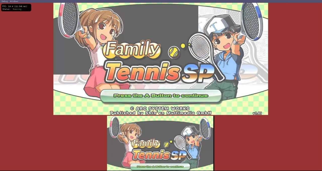 Family Tenis on Decaf