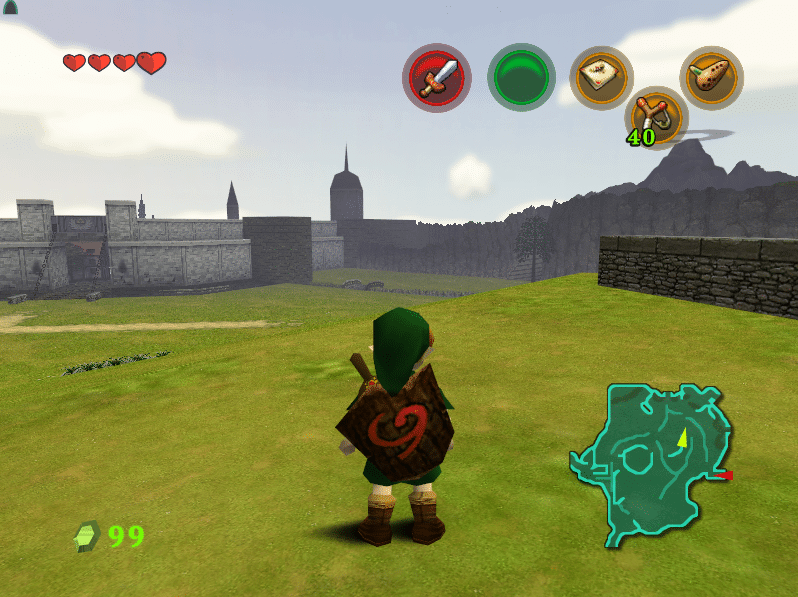 djipis ocarina of time 3ds texture pack 2016 - Screenshot 05