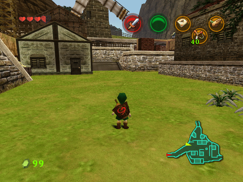 djipis ocarina of time 3ds texture pack 2016 - Screenshot 06