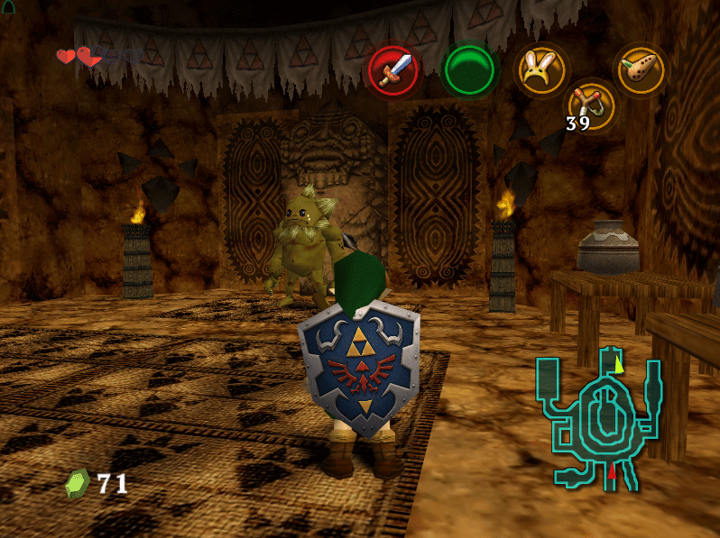 djipis ocarina of time 3ds texture pack 2016 - Screenshot 07