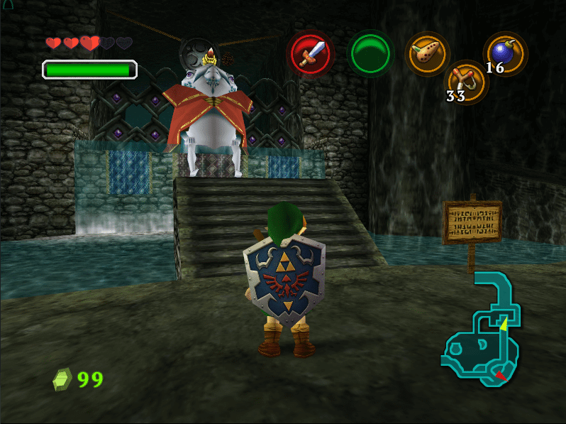 djipis ocarina of time 3ds texture pack 2016 - Screenshot 09