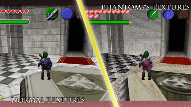 Legend of Zelda: Ocarina of Time • N64 Texture Packs